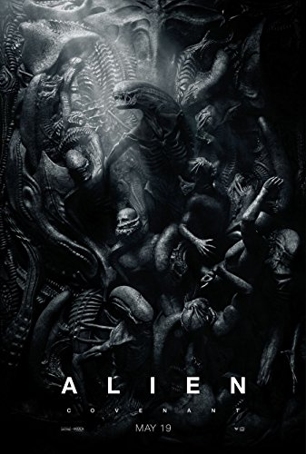 Poster Alien Covenant Movie 70 X 45 cm