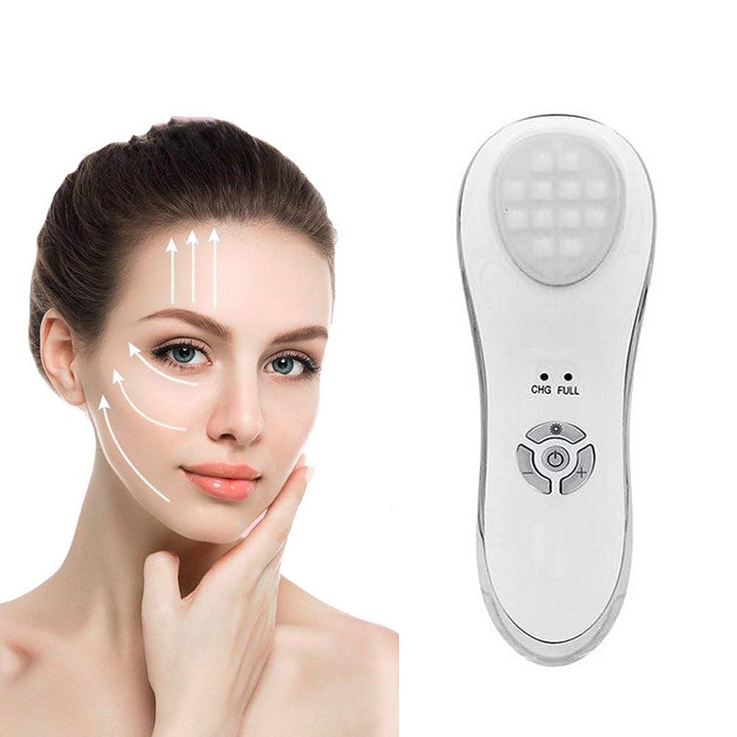 人工的な拒絶早く顔の美のマッサージャーの振動LEDライト光子の美の器械の表面持ち上がる引き締まる皮の若返り