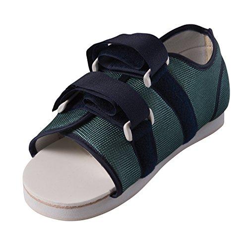 DMI Cast Shoe, Cast Boot, Post Op Shoe, Walking Boot for Foot Injuries, Women's Medium 6 - 8, Blue