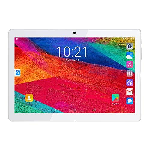 Android Tablet 10 Zoll mit Dual Simkarten Slots, Padgene Tablet PC 1280x800 Quad Core CPU Google Pad 1G+16G Speicher Dual Kamera WiFi/3G Bluetooth GPS Telefonfunktion