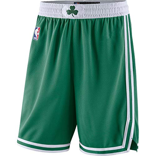 Boston Celtics Youth 8-20 Official Swingman Performance Shorts (Youth - Medium, Boston Celtics Green Icon Edition Shorts)