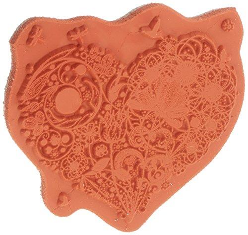 IndigoBlu Stempel mit Deckel, 7,6 x 7,6 cm, Love is Dinkie