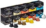 Dallmayr Capsa Kaffeekapseln Mischkarton, 10er Pack (2 x 5 Sorten mit je 10 Kapseln), Lungo Probierset