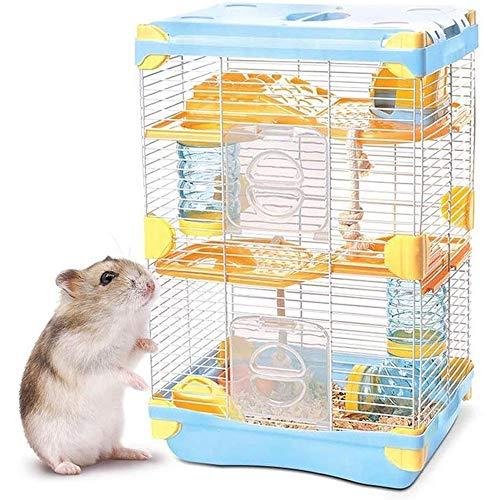Life HS Artículos para Mascotas Jaula Hamster - Hamster Nido, Demasiado Hamster...