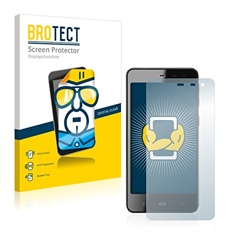 BROTECT Schutzfolie kompatibel mit Phicomm Energy M+ (E551) (2 Stück) klare Bildschirmschutz-Folie