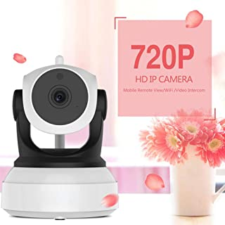 Baby Monitor Camera with WiFi Wireless 2 Way Voice Intercom and Mobile Detection Function, Dome Cameras