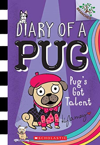Pug s Got Talent Branches Book Diary of a Pug 4 4 product image