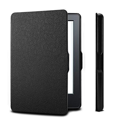 Capa para Kindle Básico da 8a geração - Rígida - Fecho Magnético - Hibernação - Preta