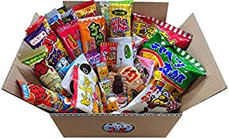 """Japanese Snacks Assortment 30pcs """"TONO SNACK"""" Excellent Variety and Delicious Selection of Japanese Dagashi"""
