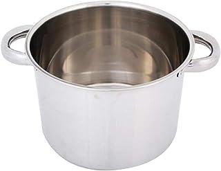 Olla de Acero Inoxidable Induccion para Cocinar Caldos Sopas Guisos Pastas y Más - El 15.3x21.8cm