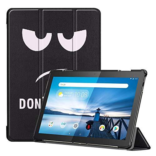 Claelech Tablette Hülle für Lenovo Tab M10, Ultra Schlank magnetisch Folio Flip Leder Schutzhülle Cover Hülle mit Standfunktion für Lenovo Tab M10 TB-X605F TB-X505F (CL-02)