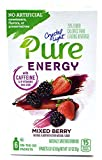 Crystal Light Pure Energy Mixed Berry On The Go Drink Mix, 6-Packet Box (4 Box Pack)