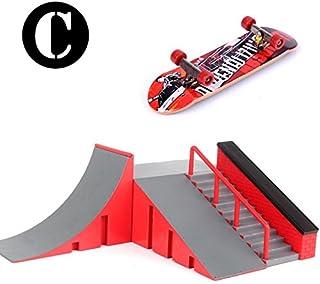 LyGuy Skate Park Kit Rampa De Piezas para Tech Deck Fingerboard Mini Finger Skateboard /Patineta Mini Dedo