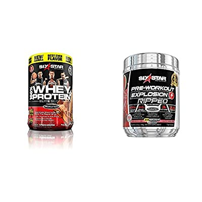 Six Star Explosion Pre Workout Explosion, Powerful Pre Workout Powde