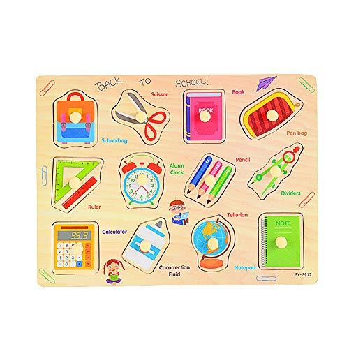 Houten Puzzel Voor 3 Jarigen Houten Peg Puzzel Childrens Houten Puzzel Puzzel Voor 2 Jarigen Houten Puzzel Voor Kinderen stationery
