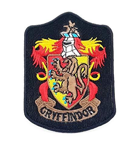 Parche bordado para planchar o coser de Harry Potter Gryffindor