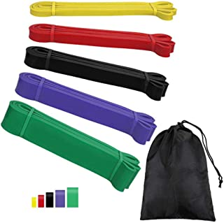Stretch Resistance Band Exercise Expander Elastic Band Pull-Up Auxiliary Band