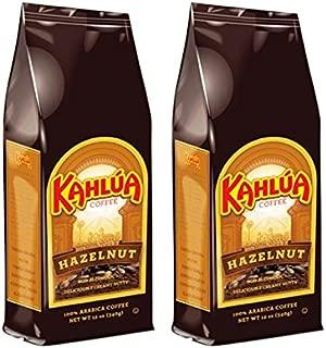Kahlua Hazelnut Ground Coffee (2 bags/12 oz)