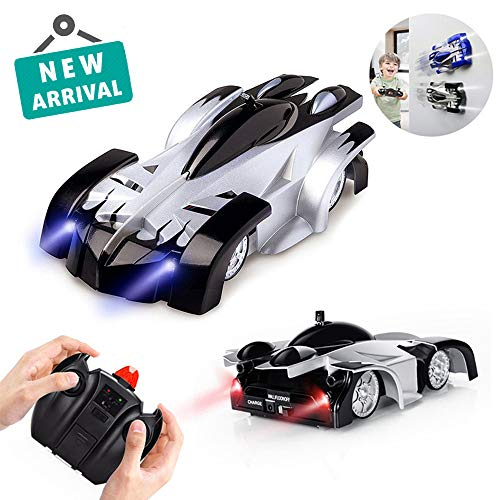 wall climbing rc car remote control anti gravity, Remote Control Car Gravity Defying RC Cars Wall Climbing Dual Mode 360 Degree Stunt (Black)