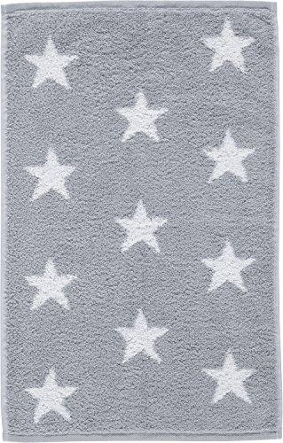 Cawö Home Handtücher Small Stars 525 Silber - 76 Gästetuch 30x50 cm