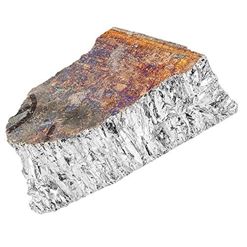 Wismutmetall hochreinig 99.99 Prozentsatz BI-Ingot Klumpen 1000g für Kunst DIY Kristallherstellung Halbleiter