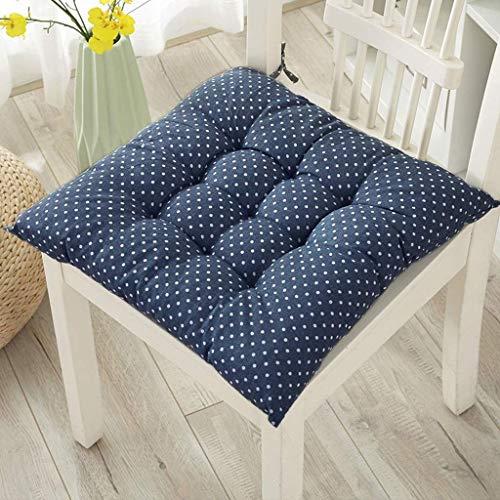 Stuhl Sitzkissen Tatami Baumwolle Weich Padded 40x40cm Stuhlkissen Auflage Sitzauflage Büro Boden Balkon Garten Auto Kissen Chair Cushion (E) F