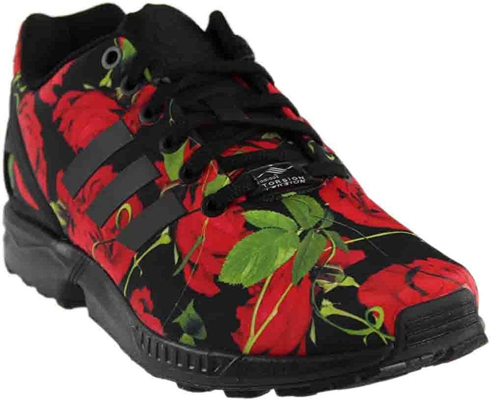 Amazon.com | adidas Women's ZX Flux Red Rose Fashion Sneakers (8 B ...