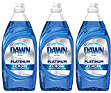 Dawn Dishwashing Soap Ultra Platinum Advanced Power 4X More, 24 Ounce (Pack of 3)