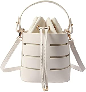 Wultia - 2019 Bags for Women Women's Fashion Hollow Shoulder Bag Multi-Function Bag Multi-Layer Handbag Messenger Bags Hot Bolsa Feminina White