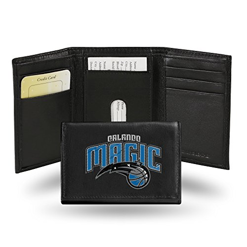 NBA Orlando Magic Embroidered Leather Trifold Wallet