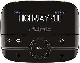Pure 150406 Highway 200 In-Car-Audio-Adapter (DAB/DAB+ Digitale Radio Met Dimbaar Display, Aux-In-Aansluiting, 20 Zenderge...