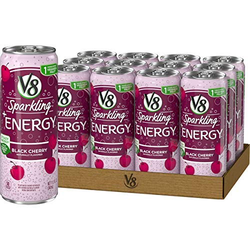 12-Pack 11.5-Oz V8 Sparkling +Energy (Orange Pineapple or Black Cherry) $6.60 w/ S&S + Free Shipping w/ Prime or on $25+