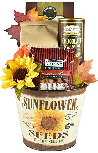 Sunflower Gift Basket