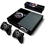 Elto Mets - Baseball MLB - Theme Skin Sticker Cover for Xbox One Console, Kinect & Controllers [video game]