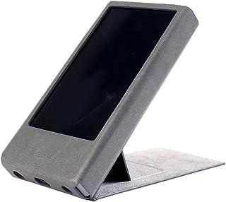 For FiiO X7 Mark II 用 カバー プロテクター ハンドメイド品 [特許取得済み スタンド付きケース] X7 Mark II Case (Gray グレー)