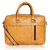 Bagneeds Business Travel Office Messenger Laptop Bag for Unisex (Yellow)