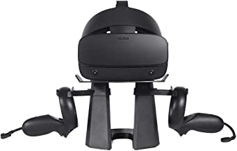 Esimen VR Stand for Oculus Rift S/ Oculus Quest All-in-one VR Gaming Headset Display Holder Mount Station VR Storage