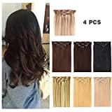 "Best Clip In Hair Extensions - 14"" Clip in Hair Extensions Remy Human Hair Review"