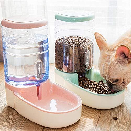 Cxssxling - Dispensador de pienso para gato, dispensador automático para gato, gato, gato, doméstico (2 unidades)