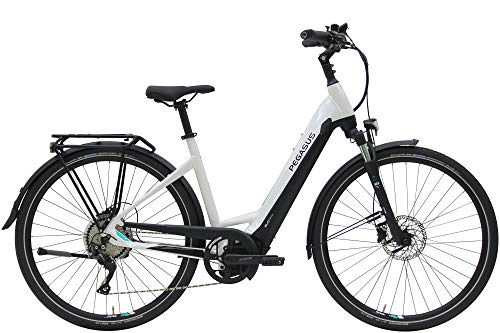 ZEG Pegasus Premio Evo 10 Lite Damen Wave E-Bike 2020, Rahmenhöhe:50 cm, Farbe:weiß, Kapazität Akku:625 Wh