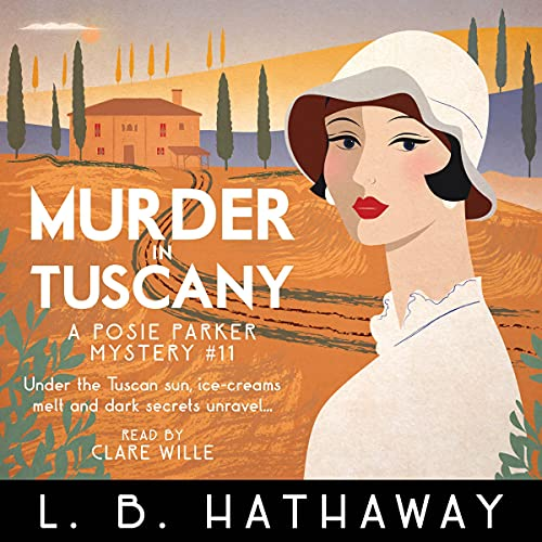 Murder in Tuscany Audiobook By L.B. Hathaway cover art