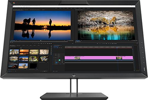 """HP DreamColor Z27x G2 Studio Display, Monito 27"""" IPS Antiriflesso QHD, Risoluzione 2560 x 1440, Tecnologia DreamColor, Comandi su Schermo, Regolazione Altezza, Rotazione Base 45°, Nero"""