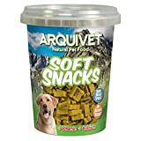 Arquivet Soft Snacks para Perro Huesitos Duo Pollo y Caza 300 g