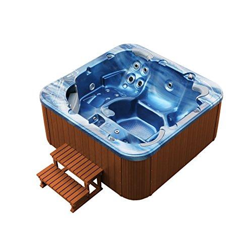 American Whirlpool Outdoor 215x215cm ! Außenwhirlpool 5 Personen