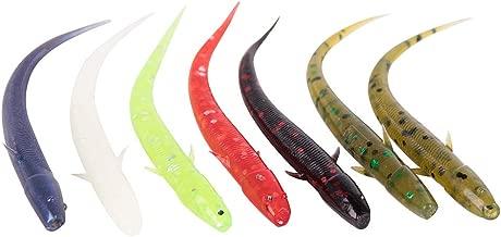Yoshikawa Bait Wiggle Worm Soft Plastic Fishing Lure Drop Shot Bass Lures Perch 3