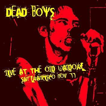 Live - The Old Waldorf, San Francisco, 2nd Nov '77 (Remastered)
