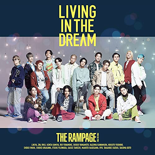 LIVING IN THE DREAM(CD+DVD ( FIGHT & LIVE盤))の商品画像