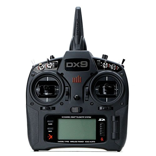 Spektrum DX9 Black 9-Channel DSMX Transmitter Only, Mode 2 (SPMR9910)