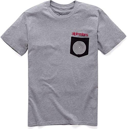 Alpinestars 1037 – 72080, T-Shirt pour Homme S Grey Heather