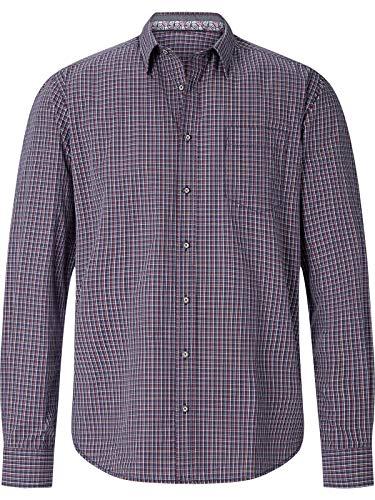 Shirt Master Herren Hemd Nolumberjackhere dunkelblau 3XL (XXXL) - 47/48